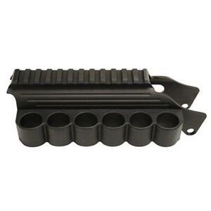 TacStar 1081035 Shotgun Rail Mount Sidesaddle Fits Remington 870 Black Finish
