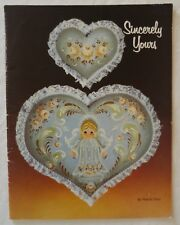 Decorative Tole Painting Pattern Book Sincerely Yours by March Fries