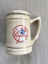 New York Yankees 1998 World Champions Mug