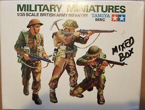 Tamiya Military Miniatures 1/35 Scale British & US Infantry European Theater