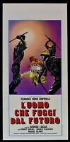 Cartel L'Hombre Che Escape ' Dal Futuro George Lucas Francis Ford Coppola L28