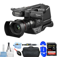 Panasonic Hc-Mdh3 Avchd Shoulder Camcorder Pal with Lcd Touchscreen 64Gb Bundle