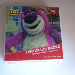 Disney Pixar TOY STORY Lenticular Puzzle JIGSAW Puzzle 48 Piece 12 x 9 inches YA