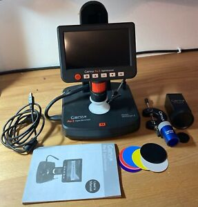 Gemax Pro-II Digital Microscope Gem Diamond Jewelry Inspection Magnifying