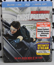 Mission Impossible - Ghost Protocol (Blu-ray/DVD, 2012, 2-Disc Set) - Tom Cruise