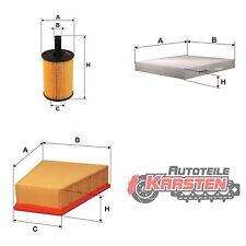 Set M: Innenraumfilter+Ölfilter+Luftfilter Inspektionsset SEAT SKODA VW