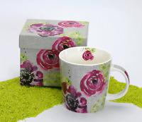 PPD Trend Mug Becher Porzellan Pink Blossom (Blume Blüte) 350 ml