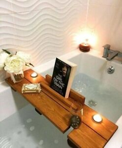 Rustic Wooden Bath Board
