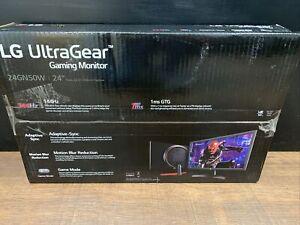 LG 24'' UltraGear FHD 144Hz Freesync AMD FreeSync LCD Gaming Monitor - 24GN50W-B
