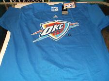 Oklahoma City Thunder Adidas Go To Tee NBA  shirt by Adidas 2XL