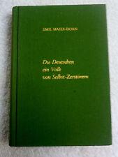 Die Deutschen  -Ein Volk von Selbstzerstörern....  EA 1977