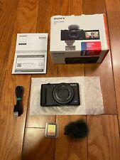 Sony ZV-1 20.1MP Compact Digital Vlog Camera + 128GB Sandisk Extreme Plus Card