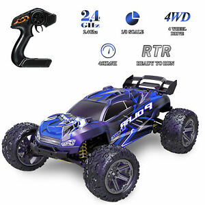 1/8 Electric Remote Control RC Monst Truck Racing Car 45km/h 4WD Off-Road Car