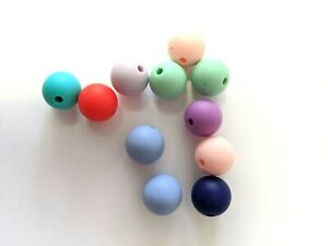 Baby Teething Necklace  Bracelets DIY Dif Shapes Silicone or Wood Beads  DIY