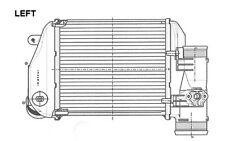 NRF Radiador de aire admisión AUDI A6 30767