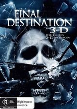 THE FINAL DESTINATION 4 (2D AND 3D) (PLAYS ANY TV/DVD PLAYER WITH 4XPLASTIC GLAS
