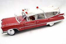 CADILLAC AMBULANCE DE 1959 GREENLIGHT PRECISION COLLECTION 1/18