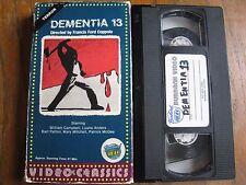 DEMENTIA 13 VHS BURBANK VIDEO VIKING VIDEO CLASSICS FRANCIS FORD COPPOLA HORROR