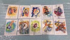 Australian 2001 Australia Rock & Pop Music set of 12 S/A stamps, used