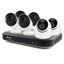 Swann DVR8-4980 5MP 8 Channel DVR, 6 x Thermal 5MP Cameras 2TB CCTV Kit