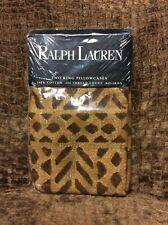 NIP Rare Ralph Lauren Nampala King Pillowcase Set (2)
