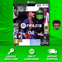 Fifa 21 Xbox One No Cd No Key (Read Description)
