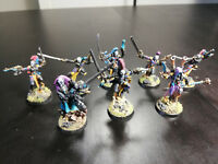 Games Workshop Eldar HARLEQUIN TROUPE Pro Painted Metal