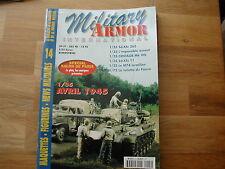 MILITARY ARMOR N° 14 EN FRANCAIS/ 1/35 AVRIL 1945/CENTAUR/M74