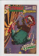 Strange Adventures #209 F Dc comic 1968 Adams Deadman