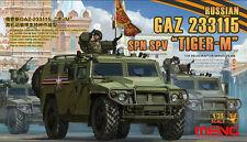 Meng VS-008 1/35 ruso GAZ-233115 SPN SPV Kit Modelo Tigre-M