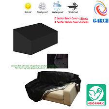 Waterproof Heavy Duty Outdoor Garden Furniture 2 3 Seater Bench Cover Protector