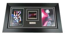 U2 FILM CELLS ORIGINAL IMAX 70MM U2 3D BONO EDGE Framed GIFTS MUSIC MEMORABILIA