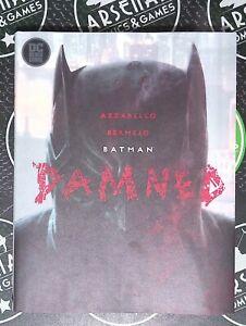 Batman Damned 2018 DC Black Hardcover Signed Brian Azzarello Lee Bermejo Joker