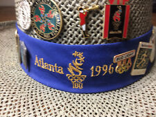 1996 Atlanta Olympic Games Pins & Hanes Hat 20+ Pins Sharp!