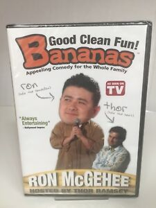 NIP Bananas TV show DVD featuring Ron McGehee and hosted by Thor Ramsey HTF!