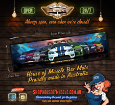 ANGRY BIRDS 2  Bar Mat Ford FALCON EB FORD FALCON BA FORD FALCON FPV Bar Runner