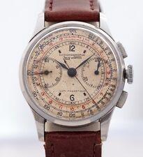 VERY RARE ww2 Zais Watch piloti CRONOGRAFO 1940 #venus 165 Staybrite