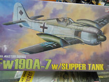 1/48 scale plastic model kit by Dragon Fw190A-7 with slipper tanks