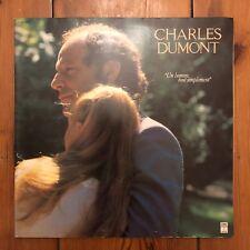 """Charles Dumont - Un Homme Tout Simplement - 12"""" LP Vinyl Schallplatte"""