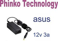 12V 3A Laptop Adapter Charger 4 ASUS Eee PC 900 901 1000 1000H 1000HE