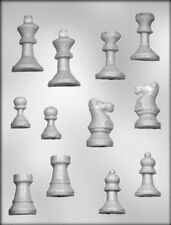 Chess Pieces Chocolate & Soap Mold - 90-13452