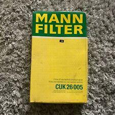 Renault MANN CUK 26 005 Cabin Filter