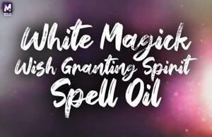WISH MAGICK SPIRIT SPELL OIL! EMPOWER YOUR WISH MAGICK SPIRIT! BOOST WISH POWER!