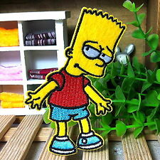 Qutie Mr Simpson Cartoon Appliques Embroidery Iron on Patch