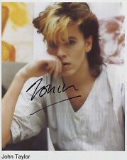 John Taylor Duran Duran SIGNED Photo 1st Generation PRINT Ltd + Certificate / 2