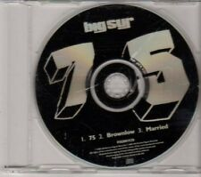 (DG465) Big Sur, 75 - 2002 DJ CD