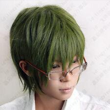 257 Kuroko's Basketball Midorima Shintaro green Cosplay Short Wig Postage Free