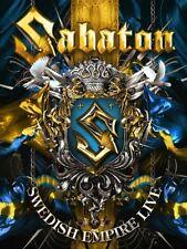 SABATON Swedish Empire Live  DELUXE BOX SET LIMITED EDITION 2 DVD