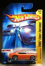 Hot Wheels 2007 #001 Dodge Challenger Concept METALLIC PEARL ORANGE,PR5