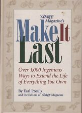 Yankee Magazine's Make It Last Earl Proulx Book 1996